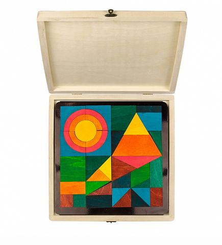 Мозаика на магнитной доске Геометрик