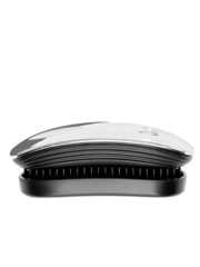 Ikoo Расческа-детанглер для сумочки устрица Pocket Oyster Black Metallic