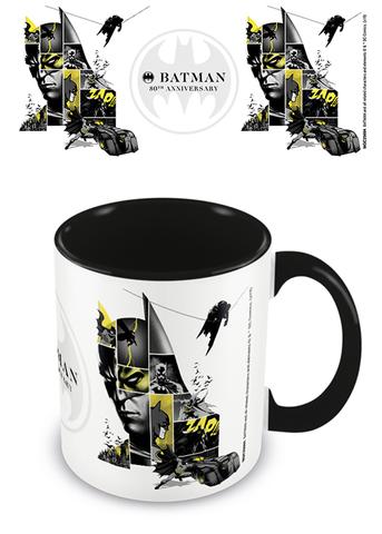 Кружка DC Batman (80th Anniversary) Black Coloured Inner Mug 315 ml MGC25694