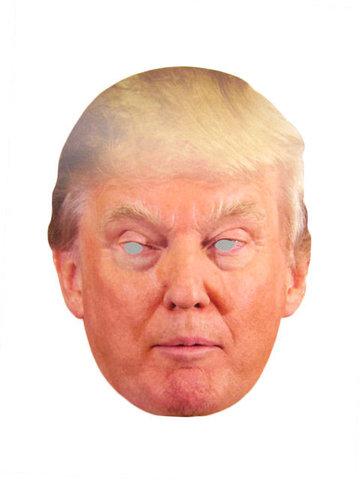 Маска Дональда Трампа -2