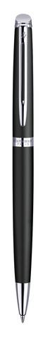 Шариковая ручка Waterman Hemisphere, цвет: MattBlack CT, стержень: Mblue