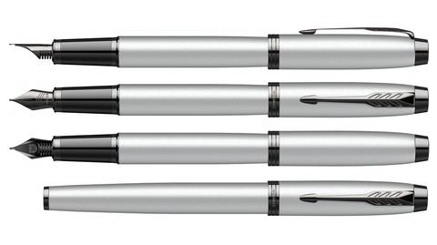 Перьевая ручка Parker IM Achromatic Matt Grey123