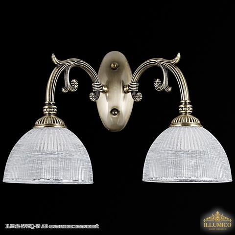 IL9942-2WSQ-19 AB светильник настенный