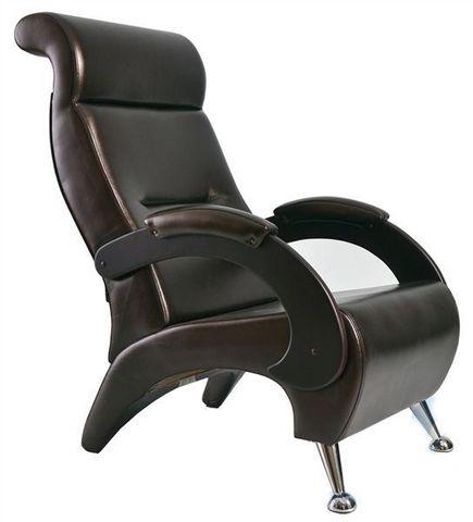 Кресло ГАРМОНИЯ (ИЛ-09-К Dondolo мод.9 Or. Perlam 120) темно-коричневый