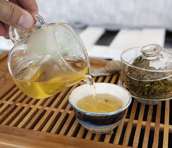 TEA-CH103 Зеленый чай «Изумрудные Спирали Весны» из Банна (Би Ло Чунь, 50 гр) фото 10