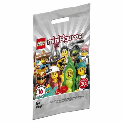 LEGO Minifigures: Серия 20 71027 — Series 20 Minifigure - Random Bag — Лего Минифигурки