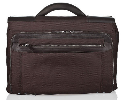 Портфель Piquadro Link, коричневый, 42х30,5х15 см