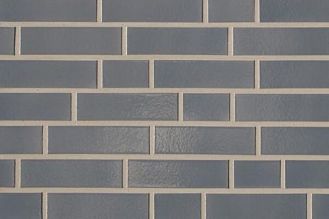 ABC - глазурованная, Dunkelgrau 380, 240х71х10, NF - Клинкерная плитка для фасада и внутренней отделки