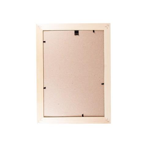 Фоторамка сосна  цветная широкая 21х30 5N92 белая