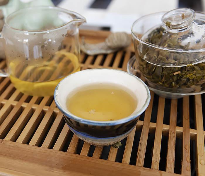 TEA-CH103 Зеленый чай «Изумрудные Спирали Весны» из Банна (Би Ло Чунь, 50 гр) фото 11