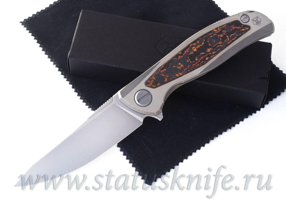 Нож Широгоров Флиппер F95NL M398 RED CF