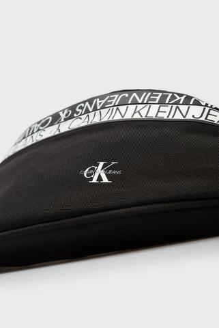 Мужская черная поясная сумка WAISTBAG MIRROR Calvin Klein