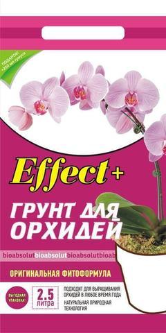 Грунт для орхидей Effect+