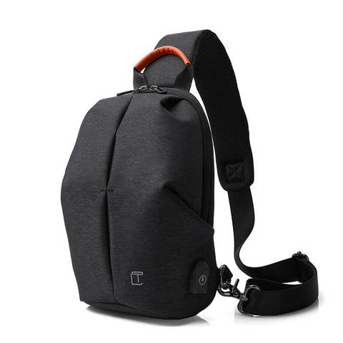 Рюкзак однолямочный Tangcool TC905 тёмно-серый