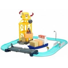 Robocar Poli Порт с разводным мостом (металлическая фигурка Терри 12 см в комплекте) (83083)