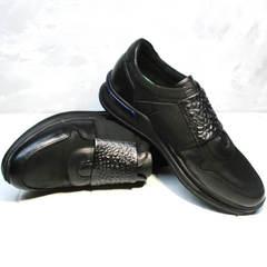 Городские кроссовки мужские Luciano Bellini 1087 All Black