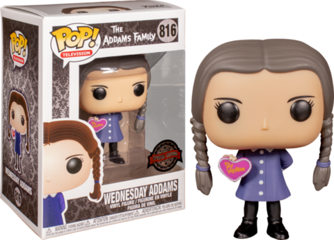 Фигурка Funko Pop! Television: The Addams Family - Wednesday Addams (Excl. to Hot Topic)