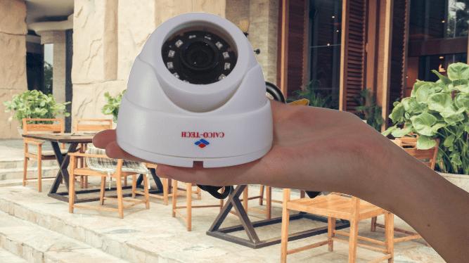 Купольная видеокамера наблюдения для помещения описане цена