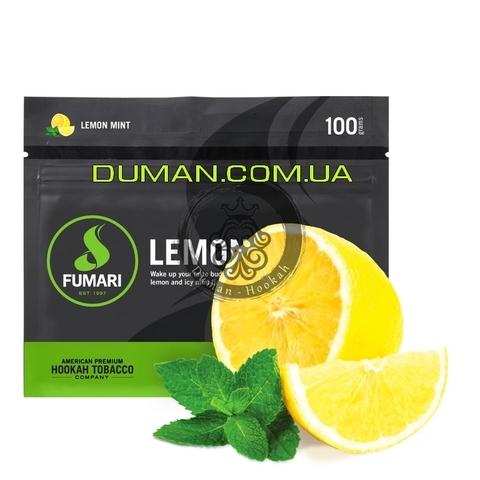 Табак Fumari Lemon Mint (Фумари Лимон с Мятой)   На вес 25г