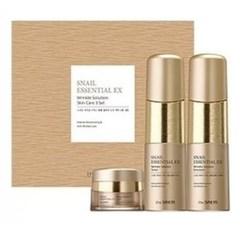 СМ Snail Essential Набор уходовый антивозрастной для лица Snail Essential EX Wrinkle Solution Skin Care Set
