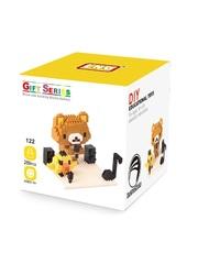 Конструктор Wisehawk & LNO Мини Бир 286 деталей NO. 122 Mini Bear Gift Series