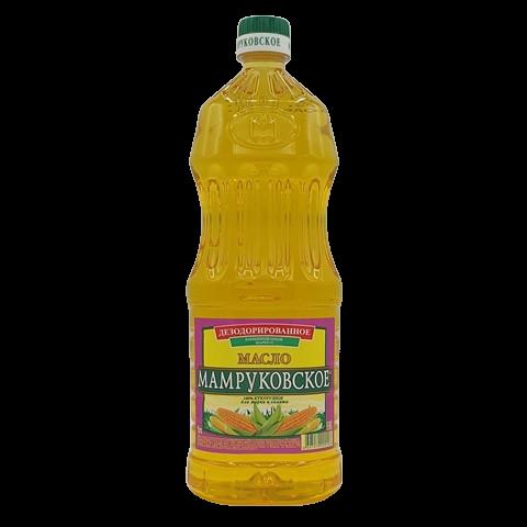 Масло кукурузное рафинированное МАМРУКОВСКОЕ, 1 л