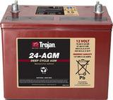 Тяговый аккумулятор Trojan 24-AGM ( 12V 76Ah / 12В 76Ач ) - фотография