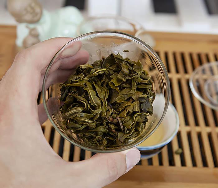 TEA-CH103 Зеленый чай «Изумрудные Спирали Весны» из Банна (Би Ло Чунь, 50 гр) фото 14