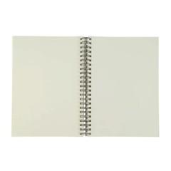 Альбом для зарисовок Fabriano Schizzi, А4, мелкозернистая темная обложка, 120 л, спираль по короткой стороне