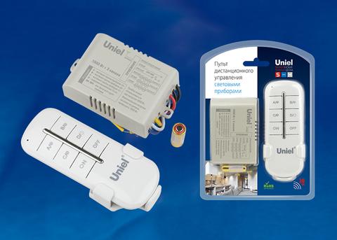 UCH-P005-G3-1000W-30M Пульт управления светом. 3 канала*1000Вт. ТМ Uniel