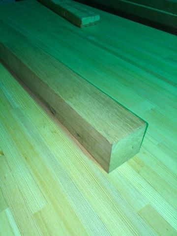Мебельный брус из дуба (Молдавский) 80х80х1200