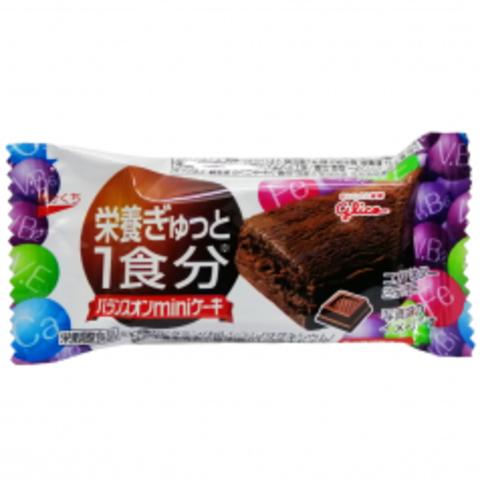 Батончик Glico с витаминами Шоколадный Брауни