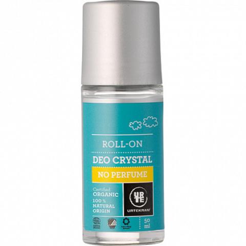 Шариковый дезодорант-кристалл, без аромата Urtekram