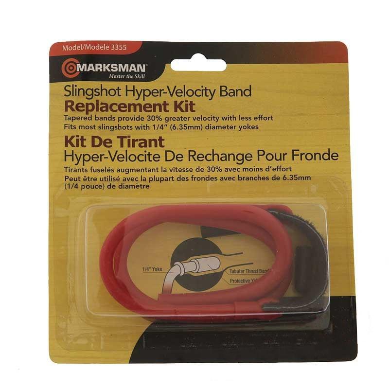 Резинка для рогаток Marksman (model 3355) красного цвета - упаковка