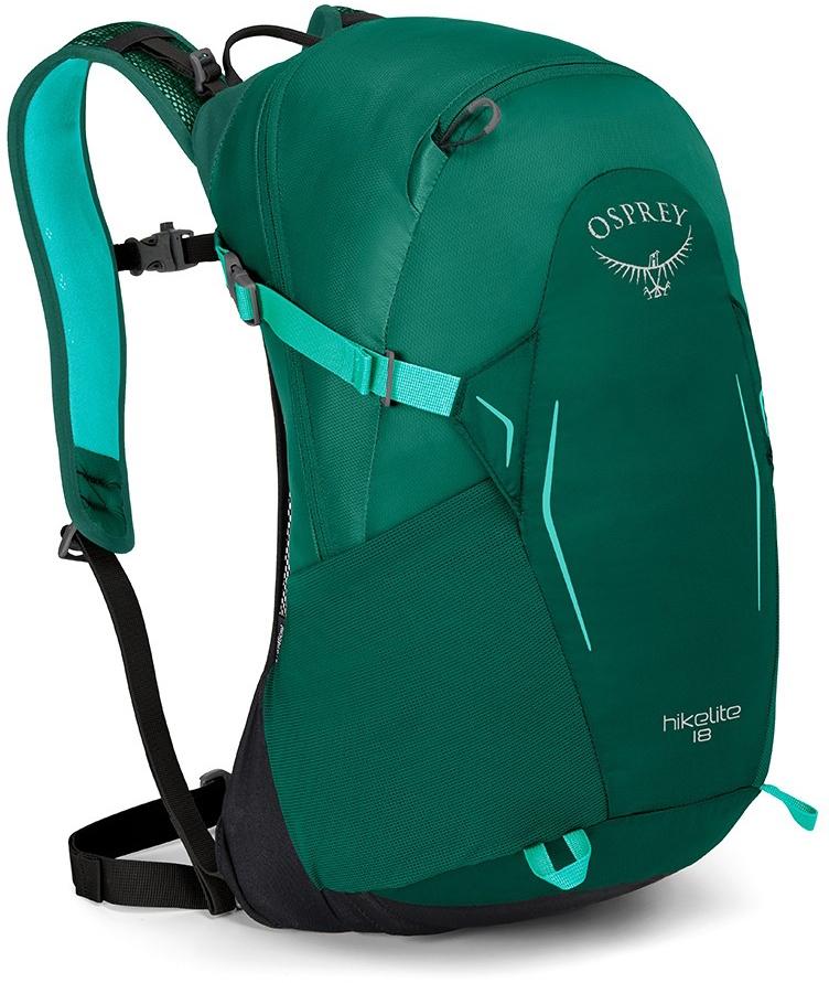 Туристические рюкзаки Рюкзак туристический Osprey HIkelite 18 Aloe Green hikelite_18_side_aloe_green.jpg