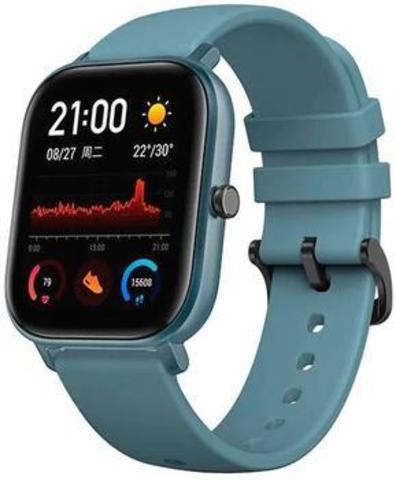 Умные часы Amazfit GTS, голубой