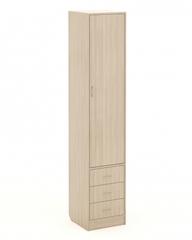 Шкаф-пенал П-03 ясень шимо светлый