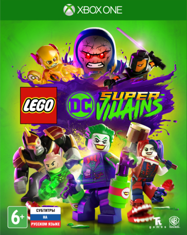 LEGO DC Super-Villains (Xbox One/Series X, русские субтитры)
