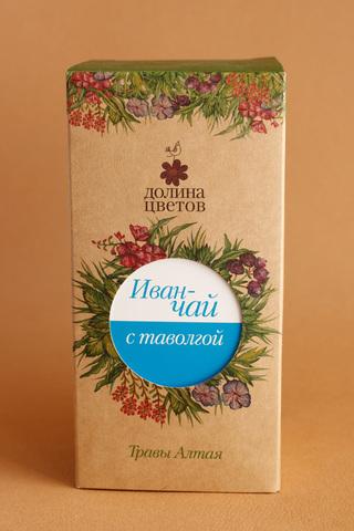 Иван-чай с таволгой в коробке 50г