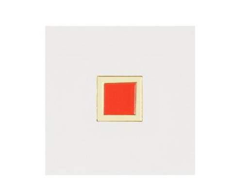 Значок металлический Авангард: Красный квадрат