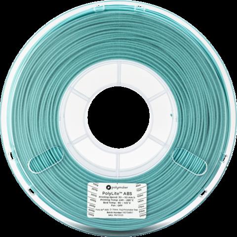 PolyMaker PolyLite ABS, 1.75 мм, 1 кг, Бирюзовый