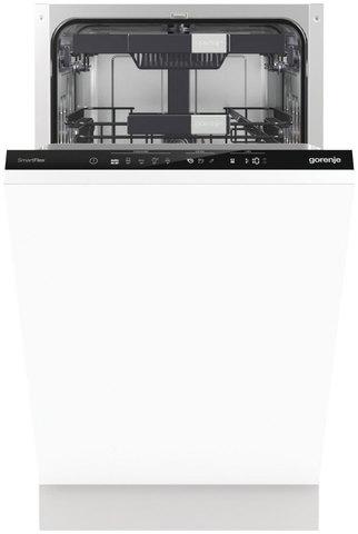 Встраиваемая посудомоечная машина шириной 45 см Gorenje GV56210