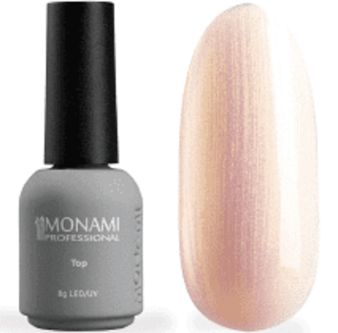 Топ Monami Super Shine Pearl top Gold, 8 г.