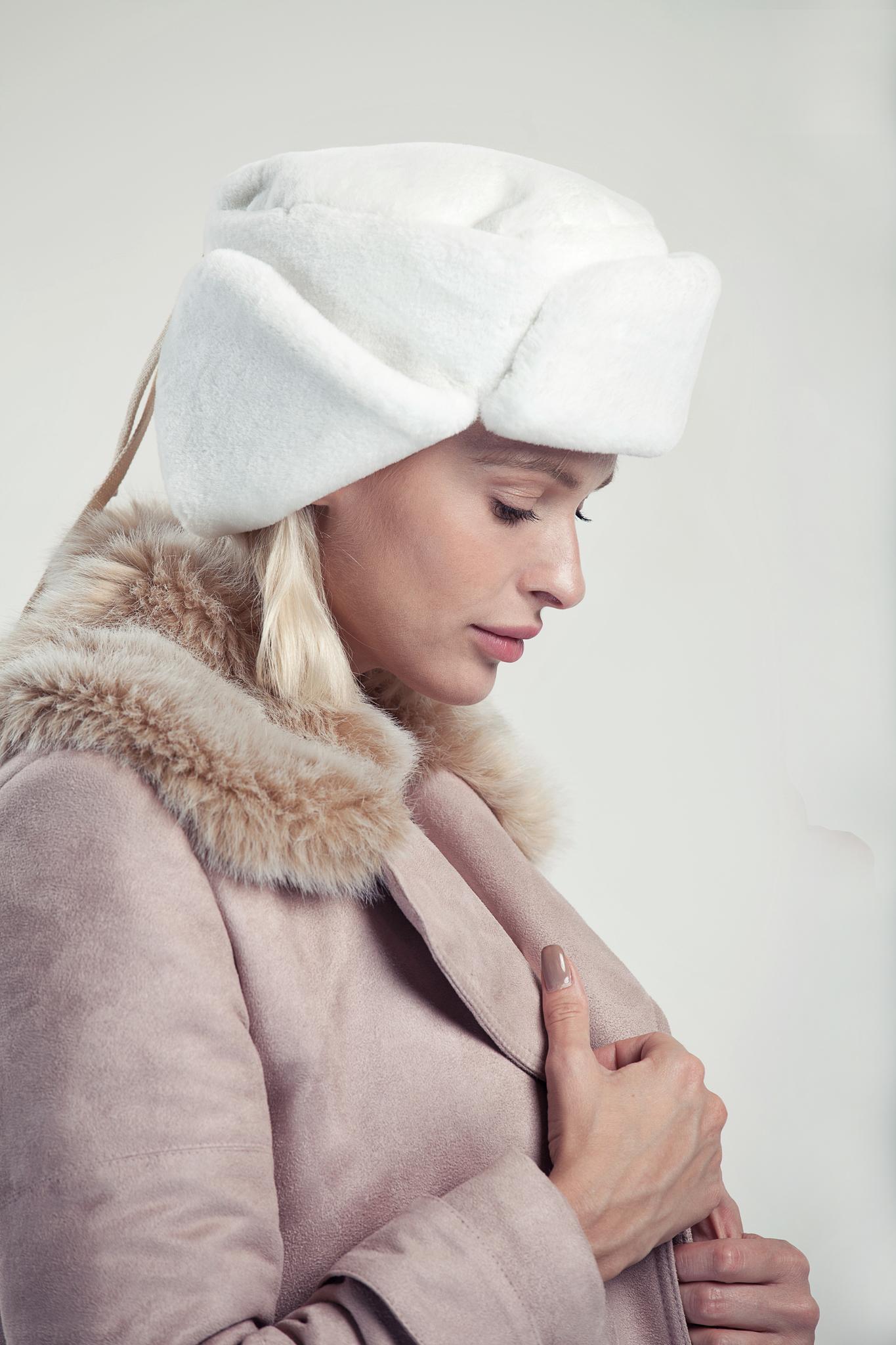 Шапка-ушанка зимняя