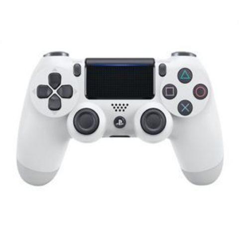 Беспроводной контроллер DualShock 4 для PS4 (белый, 2ое поколение, CUH-ZCT2E: SCEE)