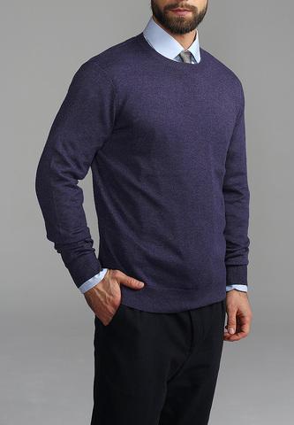 Джемпер мужской G121-DA20 т.фиолет меланж