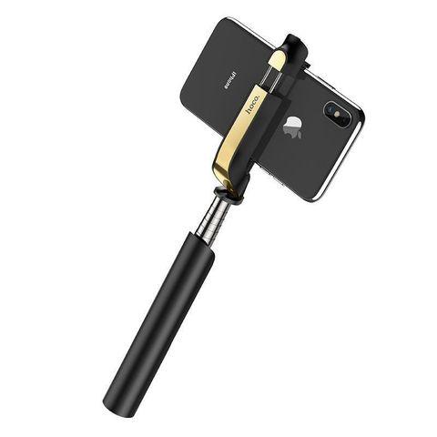 Монопод Hoco K12 Lisa wireless Black
