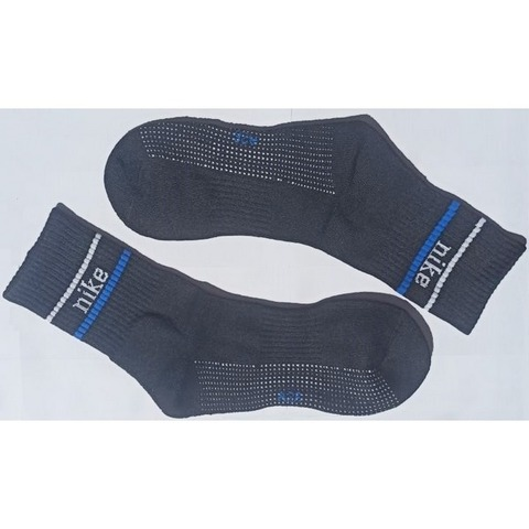 Мужские носки черные Nike Fit спортивные