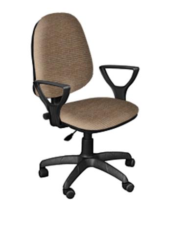 Кресло ПРЕСТИЖ-POLO газлифт ткань светло-коричневая