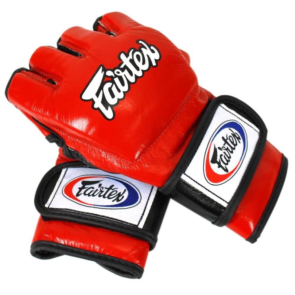 ММА перчатки Перчатки MMA Fairtex Gloves FGV12 Red 1.jpg